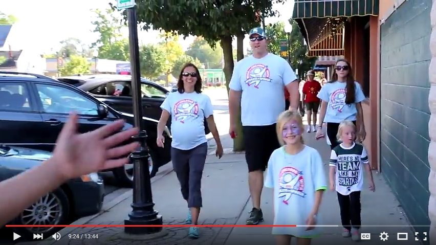 Apraxia Walk 2015 Full Video